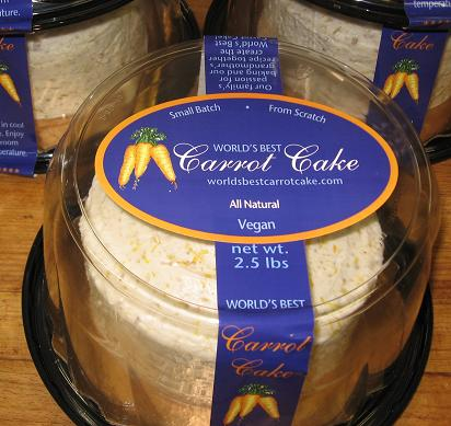 Wholesale Carrot Cake